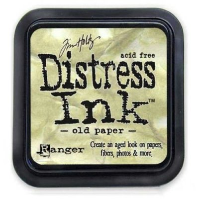 Distress Ink - Old Paper - Tim Holtz