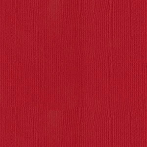 Cardstock Bazzill - Canvas - Classic Red