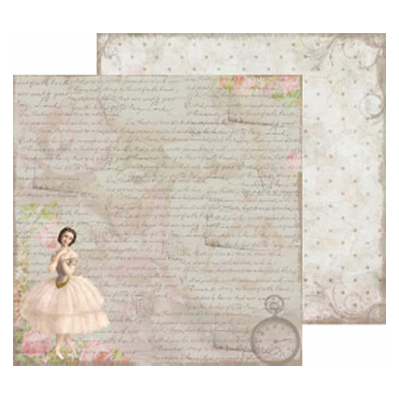 Papper Reprint - As Time Goes By - Ballerina