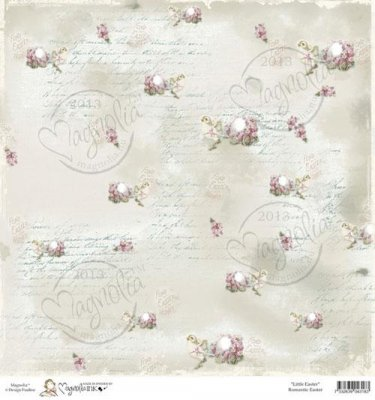 Papper Magnolia - Little Easter - Romantic Easter