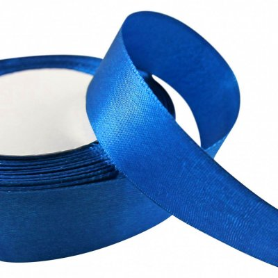 Satinband 24 mm - Royal Blue