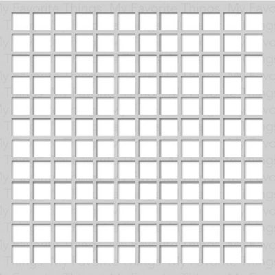 Schablon 6x6 - Large Grid - My Favorite Thing