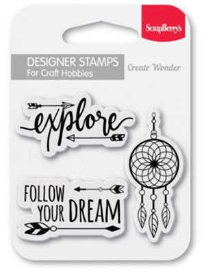 Clearstamp - Follow Your Dream - Scrapberry's