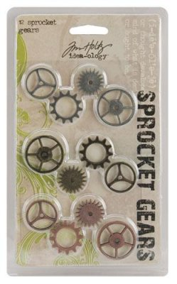 Metalldekoration - Tim Holtz - Sprocket Gears