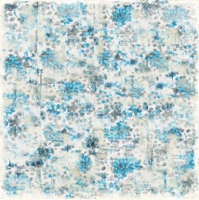Papper Magnolia - Vintage Blue Autumn