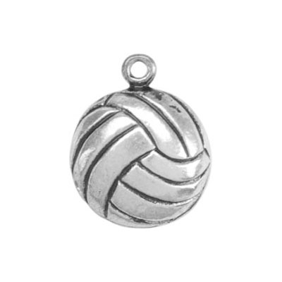 Charms 2 st - Volleyboll 15mm