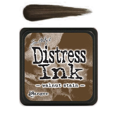 Distress Ink Mini - Walnut Stain - Tim Holtz/Ranger
