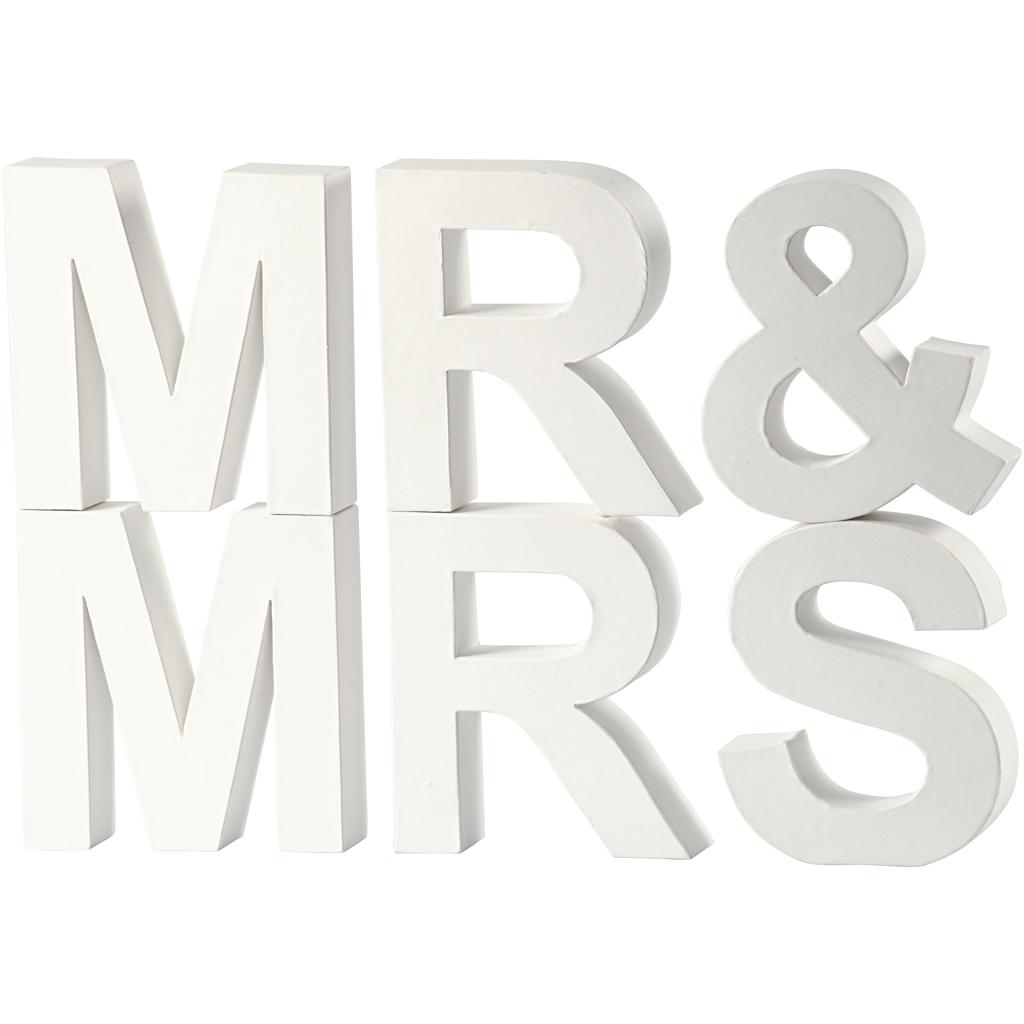 Bokstäver - MR   MRS - H  17 ee3078f171b0b